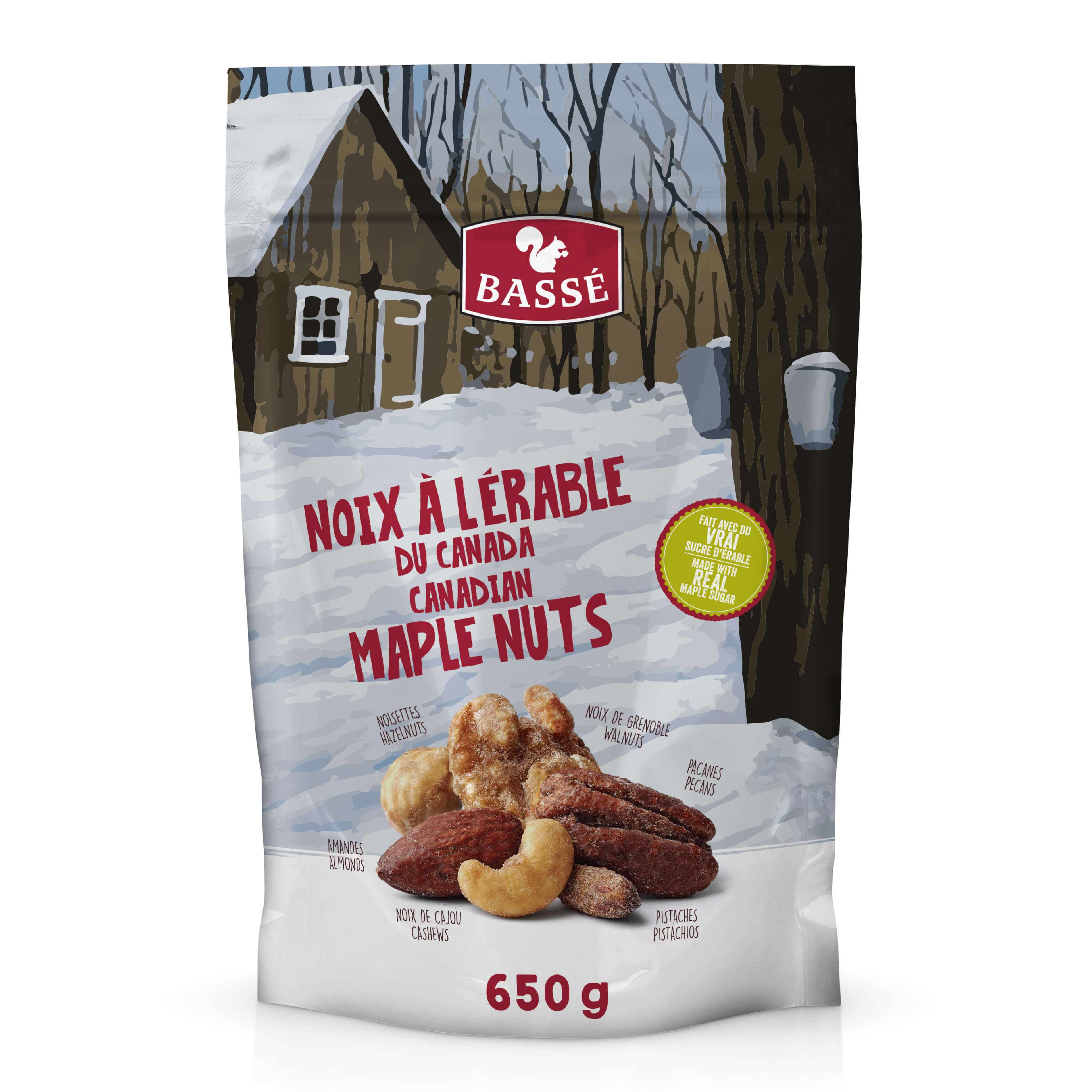 Canadian Maple Nuts
